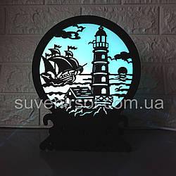 Соляной светильник Шар 6 Маяк