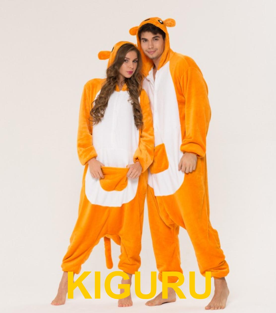 Кигуруми кенгуру пижама