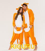Пижама кигуруми костюм кенгуру