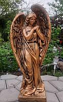 Скульптуры ангелов из бетона. Скульптура Ангел №211 бетон 80 см бронза