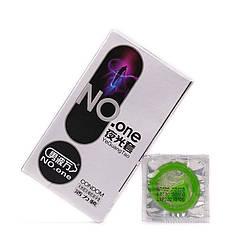 Презервативы NO.one 8 шт Светятся  в темноте