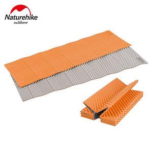 Туристический складной коврик Naturehike полиуретановый. Оранжевый