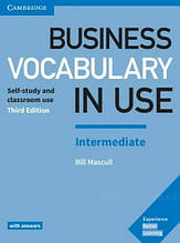 Business Vocabulary in Use 3rd Edition Intermediate with answers / Книга