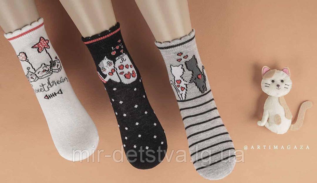 Нарядные носочки для девочек ТМ Katamino р.3-4 (21-23 см)