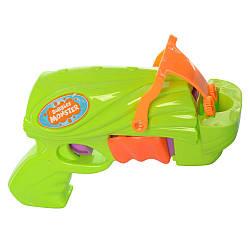 Детский игрушечный пистолет с мыльными пузырями 668-1B