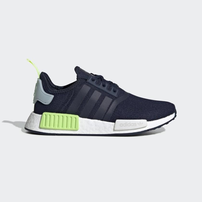 Кроссовки женские оригинальные Adidas NMD_R1 синие