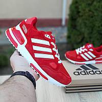 Adidas ZX 750 красные адидас кроссовки мужские кросовки кеды