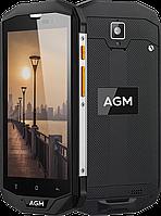 "Протиударний смартфон AGM A8, 4/64 Gb, IP68, NFC, 13 Mpx, Gorilla Glass 3, Android 7.0, 4050 mAh, дисплей 5"""