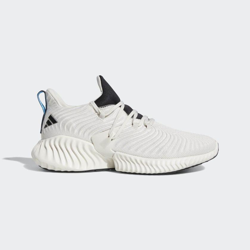 Кроссовки мужские оригинальные Adidas Alphabounce Instinct бежевые