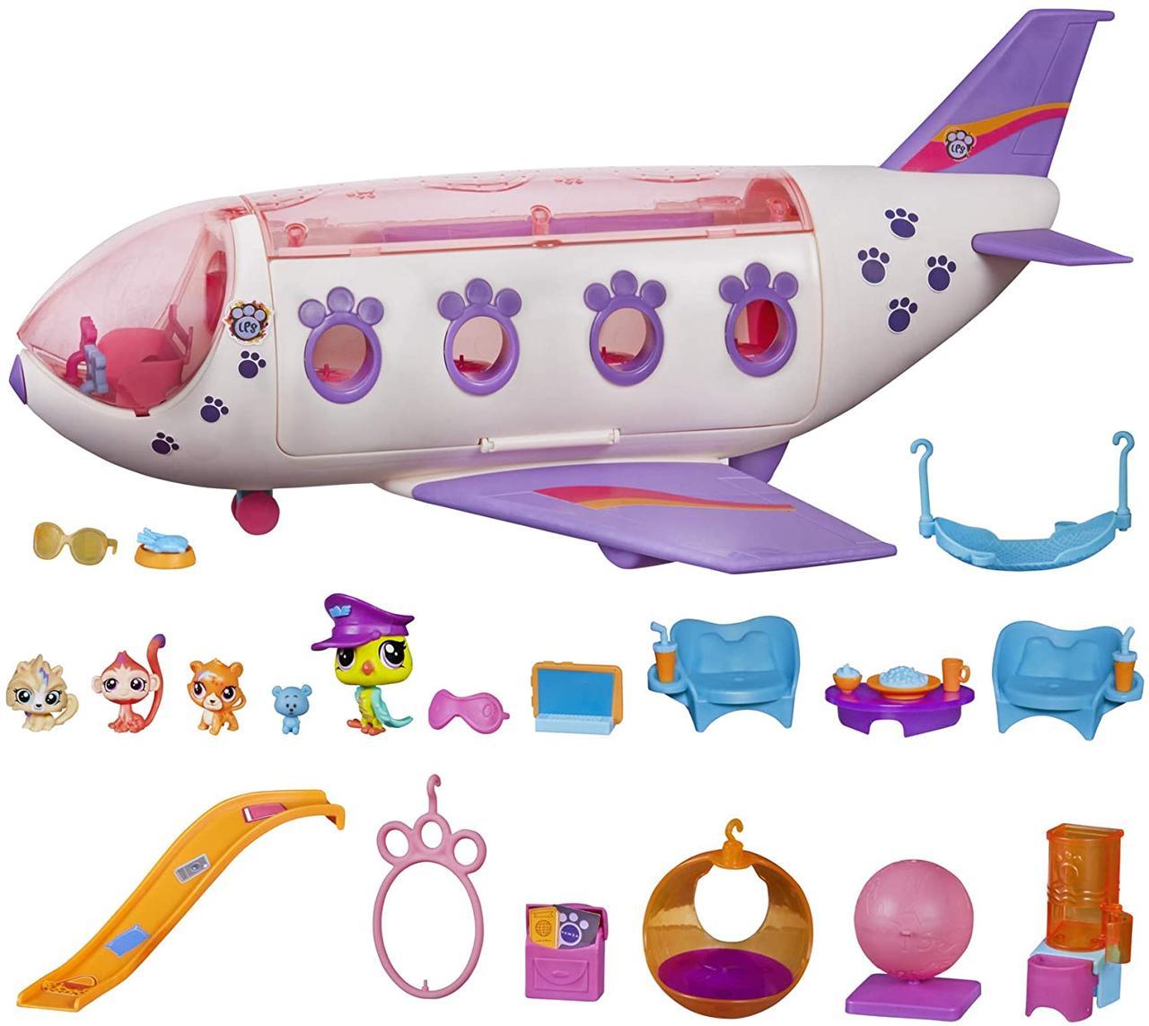 Игровой набор Самолет для зверюшек pet shop
