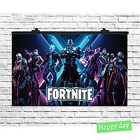Плакат для праздника Fortnite, 75х120 см(1632-77)