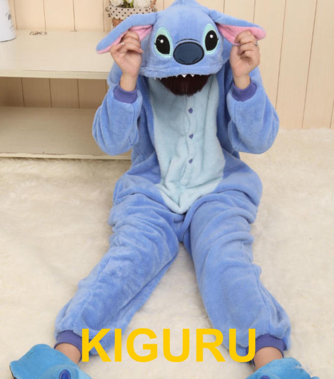 Кигуруми стич теплая пижама S (150-160cm), Фланель - KIGURU в Киеве