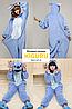 Кигуруми стич теплая пижама, фото 3