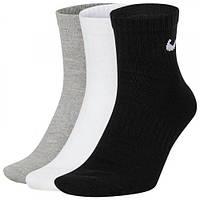 Носки Nike тонкие Everyday Lightweight Ankle 3PR SX7677-901, фото 1