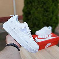Nike Air Force 1 LV8 белые женские кроссовки белые найк форс кросовки низкие