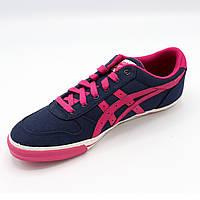 Кроссовки женские летние Asics (Сине-розовый цвет) Размер 39