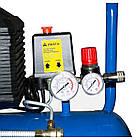 Компрессор воздушный электрический EnerSol ES-AC190-50-1, поршневой, мощность 1,8 кВт, 190 л/мин, ресивер 50л., фото 6
