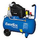 Компрессор воздушный электрический EnerSol ES-AC190-50-1, поршневой, мощность 1,8 кВт, 190 л/мин, ресивер 50л., фото 7