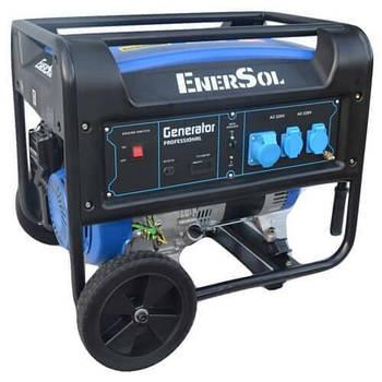 Генератор бензиновый EnerSol SG-7Bнапряжение 220В, мощность 7 кВа