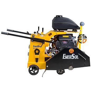 Швонарезчик EnerSol ECC-250L, мощность 16 л.с., диаметр диска до 600 мм, вес 260 кг.