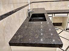 Стільниця у ванну з кварцу Quartzformz Planet Mars, фото 3