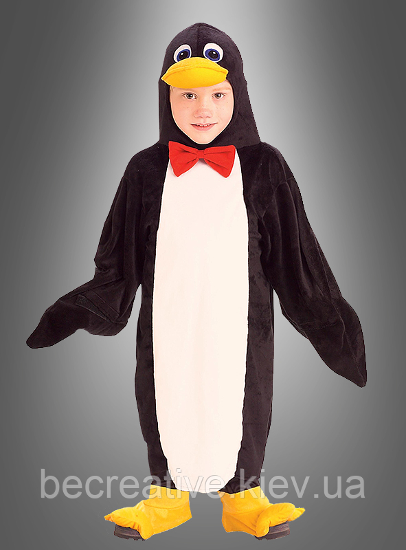 Дитячий карнавальний костюм пінгвіна