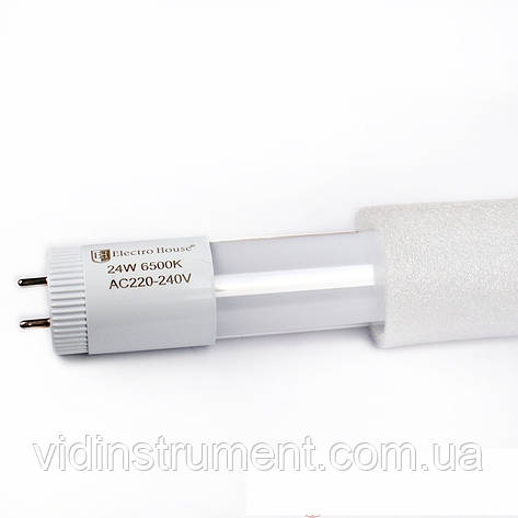 ElectroHouse LED лампа линейная T8 24W 6500K 2160Lm 1500 мм, фото 2