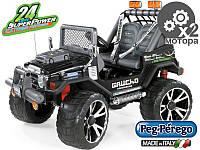 Детский электромобиль-джип Peg-perego Gaucho Superpower 24V