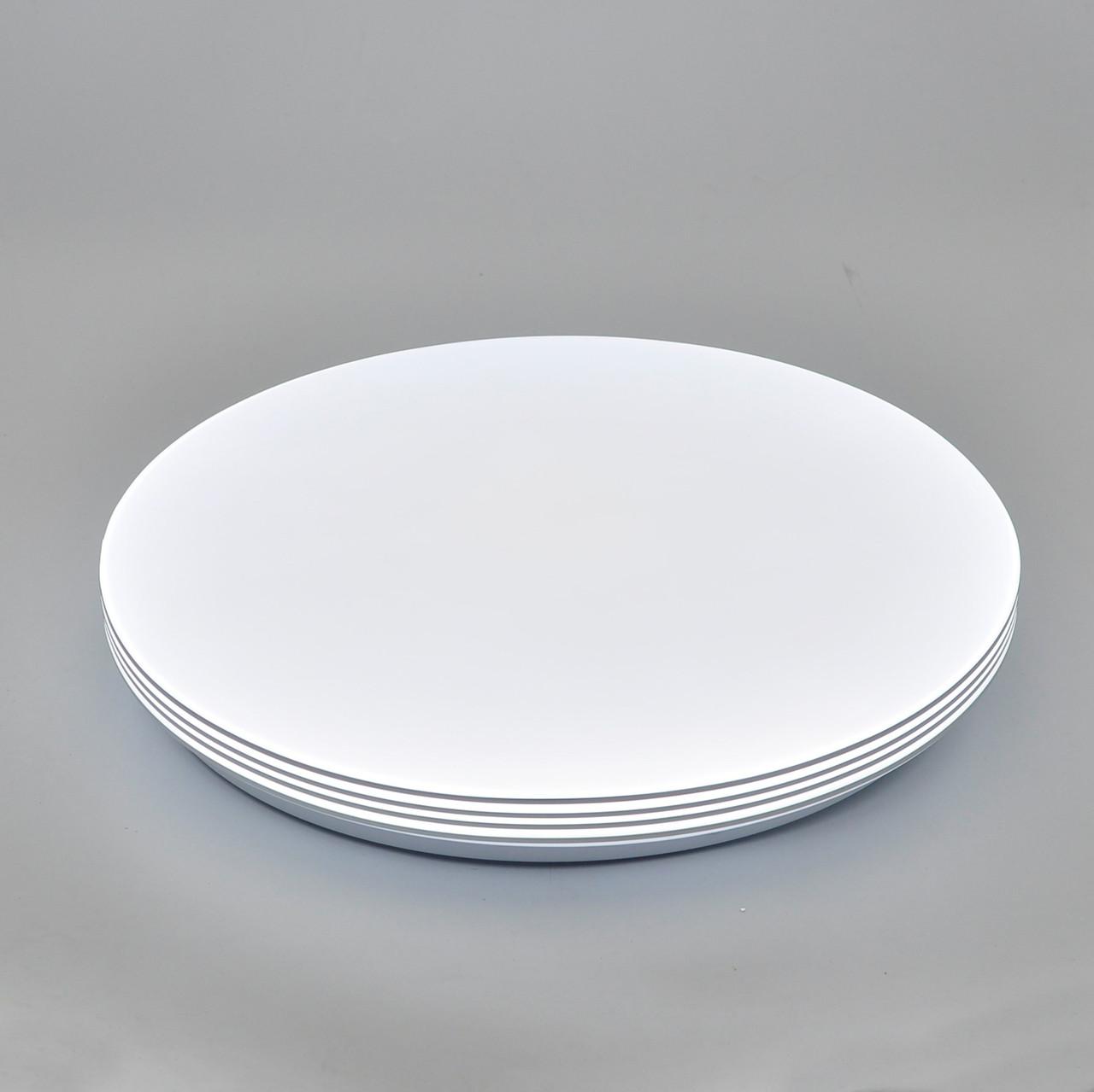 Кругла світлодіодна SMART люстра 80W 500x500x55