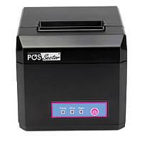 Чековый POS принтер E801 универсальный для ленты 80 мм / 58 мм с WIFI, USB интерфейсами