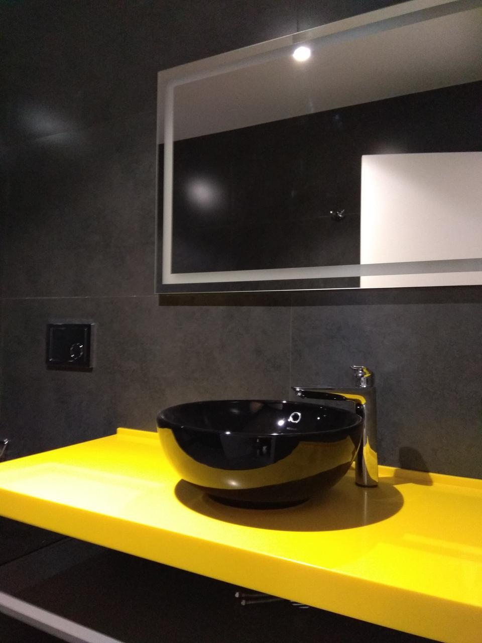 Столешницы в ванную комнату из Lotte Staron SS 042