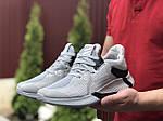 Чоловічі кросівки Adidas (світло-сірі) 9351, фото 4