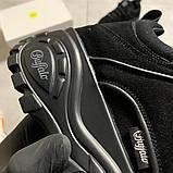 Женские кроссовки Buffalo London Black Suede, женские кроссовки буффало лондон, фото 6