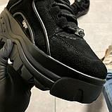 Женские кроссовки Buffalo London Black Suede, женские кроссовки буффало лондон, фото 4