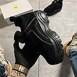 Женские кроссовки Buffalo London Black Suede, женские кроссовки буффало лондон, фото 2