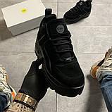Женские кроссовки Buffalo London Black Suede, женские кроссовки буффало лондон, фото 3