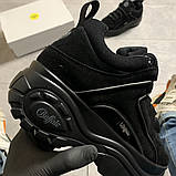 Женские кроссовки Buffalo London Black Suede, женские кроссовки буффало лондон, фото 7