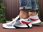 Мужские кроссовки Adidas (белые) 9352, фото 4