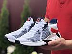 Мужские кроссовки Adidas (белые) 9352, фото 5