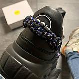 Женские кроссовки Buffalo London Black Blue, женские кроссовки буффало лондон, фото 6