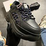 Женские кроссовки Buffalo London Black Blue, женские кроссовки буффало лондон, фото 4