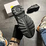 Женские кроссовки Buffalo London Black Blue, женские кроссовки буффало лондон, фото 8