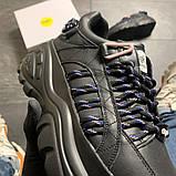 Женские кроссовки Buffalo London Black Blue, женские кроссовки буффало лондон, фото 5