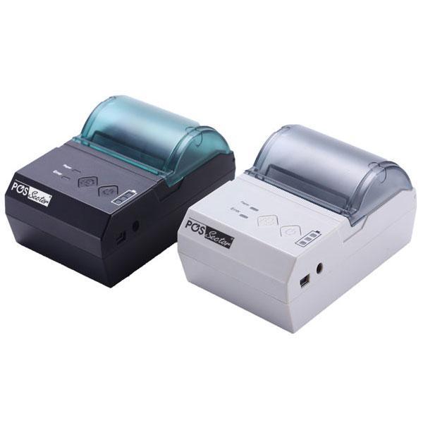 Компактный портативный Bluetooth принтер для печати чеков с планшетов и смартфонов Android E200