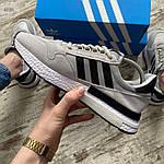 Чоловічі кросівки Adidas (сірі) 403PL, фото 3