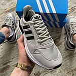 Мужские кроссовки Adidas (серые) 403PL, фото 4