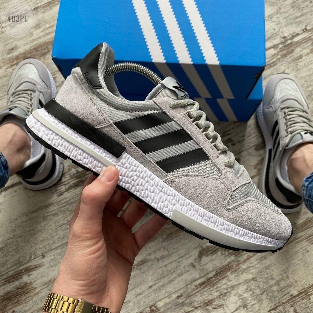 Мужские кроссовки Adidas (серые) 403PL