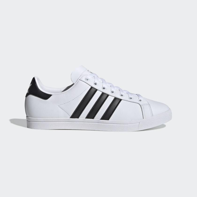 Кроссовки мужские оригинальные Adidas Coast Star кожаные белые
