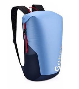 Легкий туристический рюкзак Gonex 35L для трекинга. Складной рюкзак-гермомешок. Cиний.