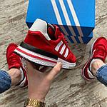 Мужские кроссовки Adidas (красные) 404PL, фото 4
